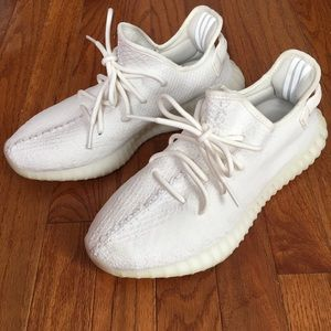 Adidas Yeezy Boost 350 Triple White Mens Size 8.5
